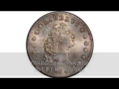 The Legendary Gem Lord St. Oswald 1794 Silver Dollar - The D. Brent Pogue Collection II