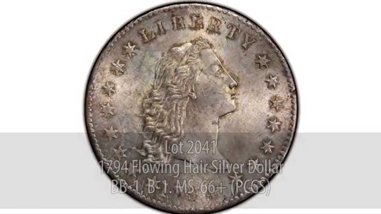 1794 $1 (Regular Strike) Flowing Hair Dollar - PCGS CoinFacts