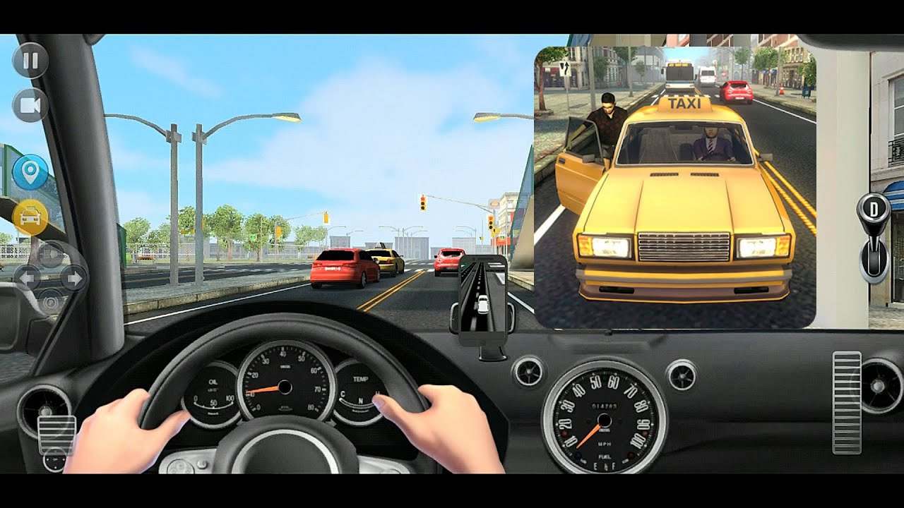 模擬駕駛出租車遊戲 『出租車模擬器2018』試玩 - YouTube