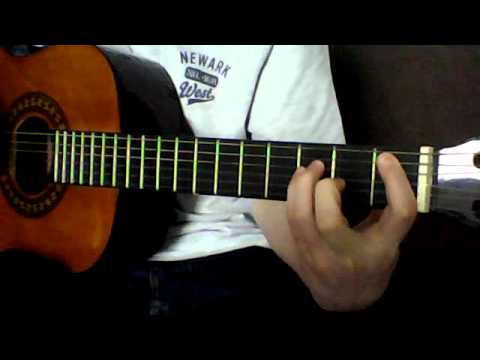 How to play Bm power chord/ A# on guitar - YouTube