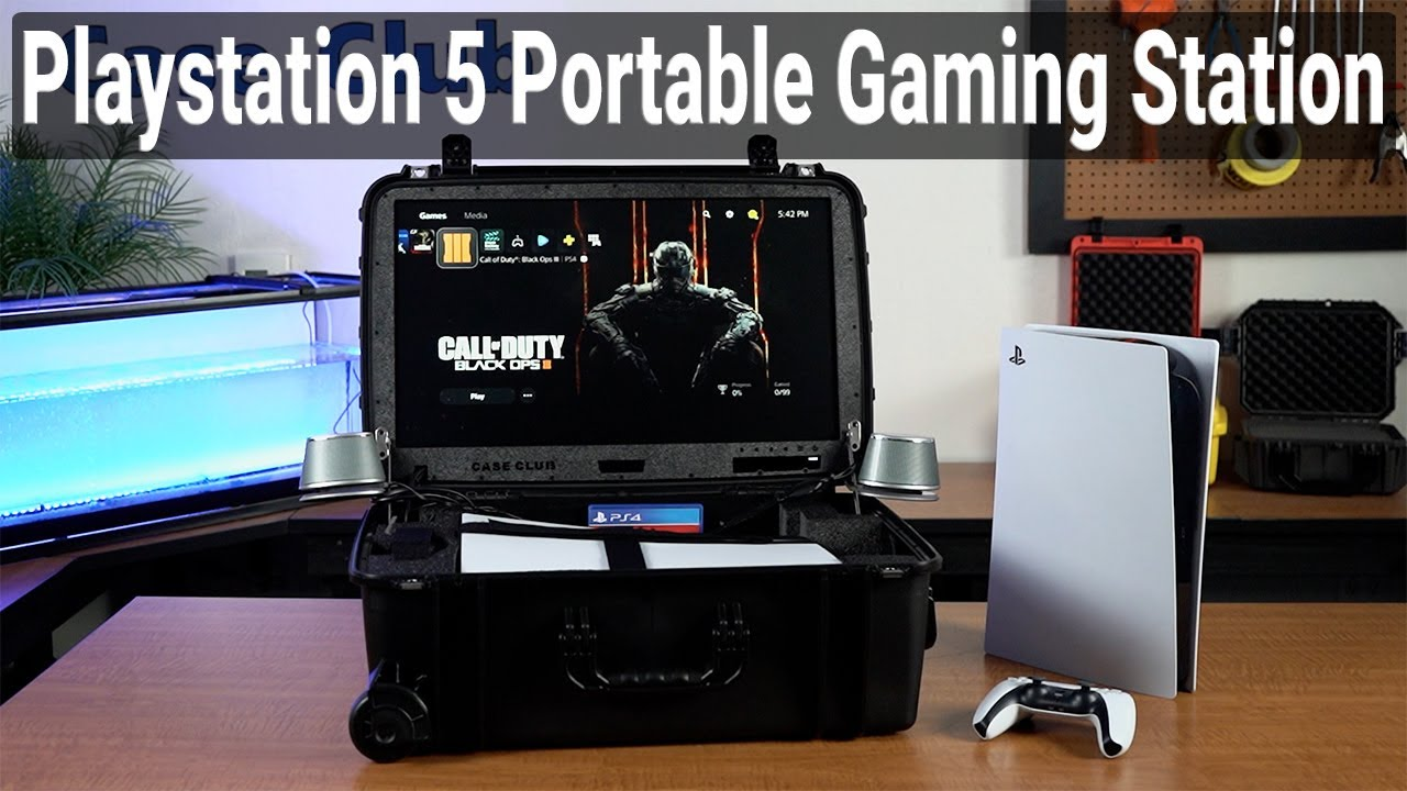 PlayStation 5 Portable Gaming Station - Case Club - Video