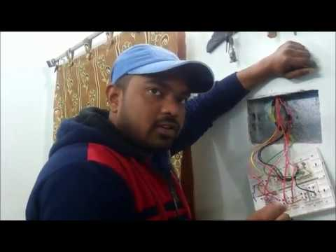 Installing Remote Control Switching System - Blackt Electrotech - 4 Lights & 1 Fan Unit