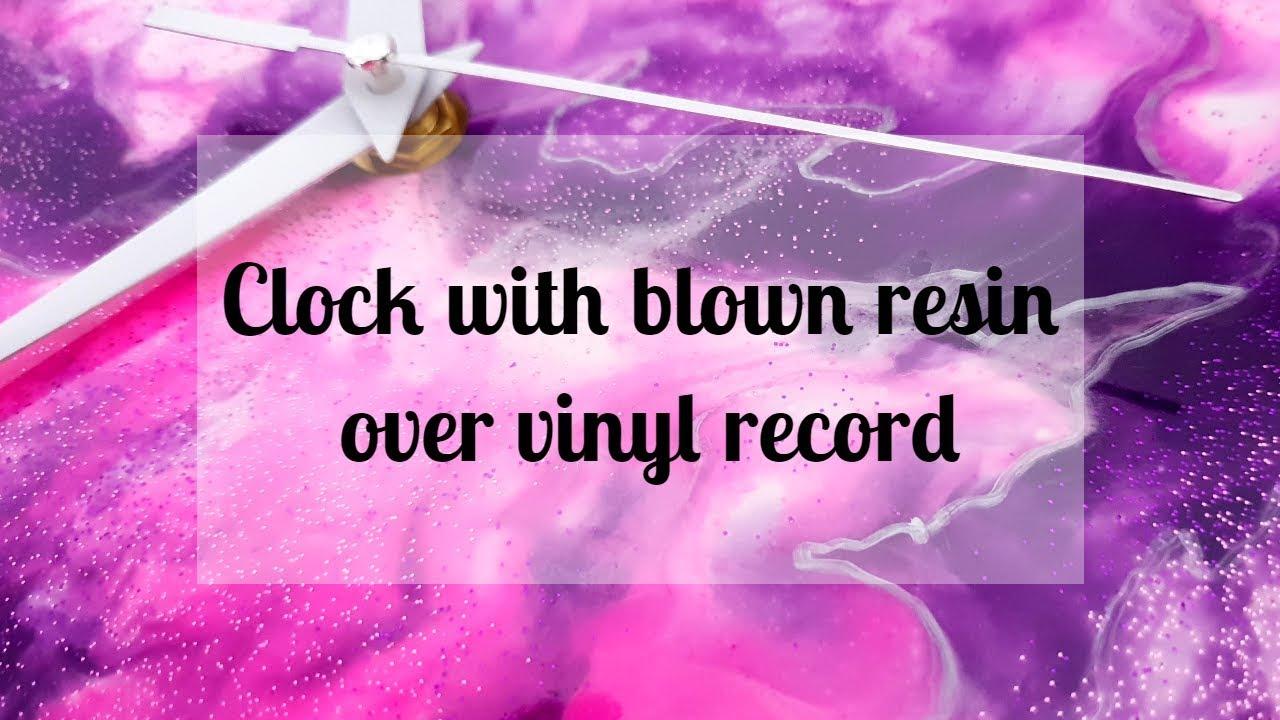132 Vinyl Records Hairdryer Epoxy Resin Acrylic