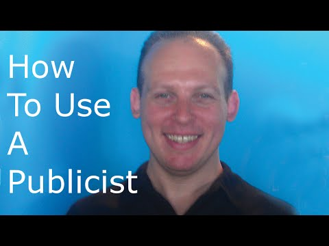 What is a publicist and how does a publicist help promote a business