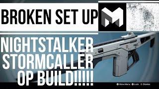 Monte Carlo: OP Nightstalker / Stormcaller COMBO - Destiny Rise of Iron