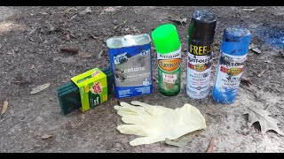 DIY: Hydro Dipping using Spray Paint