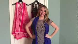 Quick Crafts with Brittany Spriggs: How to turn a SCARF into a VEST!