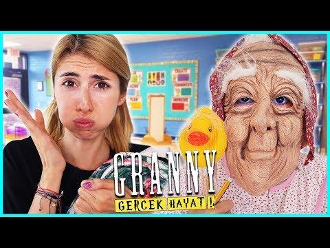 Gerçek Hayatta Granny Okul Günü Heyecanı Eğlenceli Çocuk Videosu Dila Kent