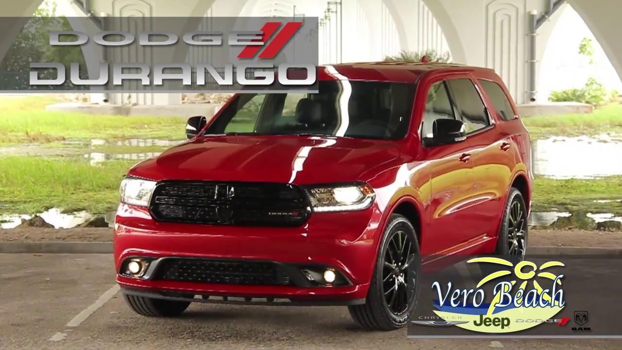 Vero Beach Dodge >> 2017 Dodge Durango Ft Pierce Fl Vero Beach Jeep Dodge Ram