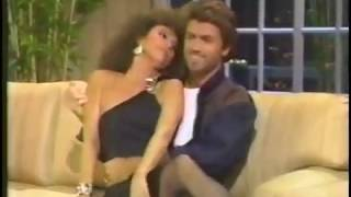 George Michael on the late show Joan Rivers (1986)