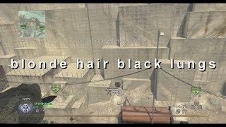 blonde hair black lungs
