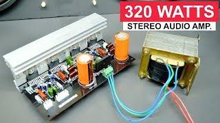 320 Watts Stereo Amplifier Board DIY TDA7294 X4 IC | ELECTRO INDIA