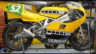 Yamaha TZ250 Grand Prix Racer - Rebuild - Time Lapse