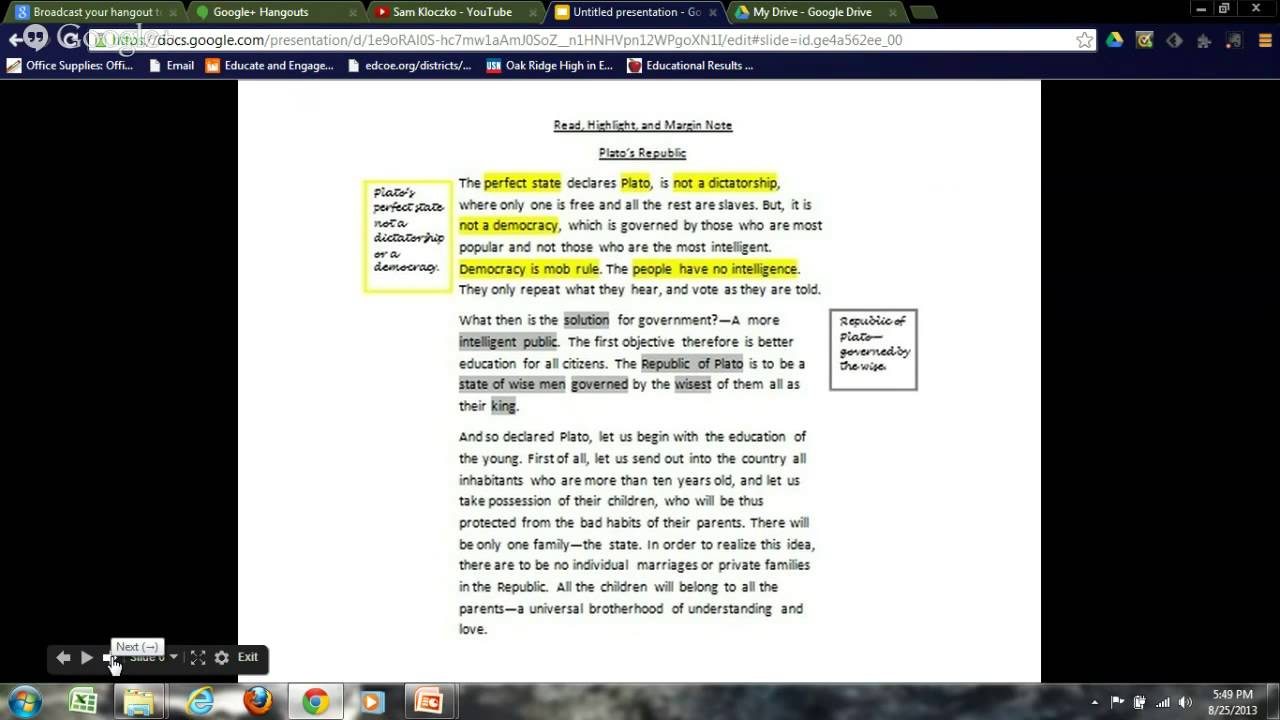 how to make margin notes