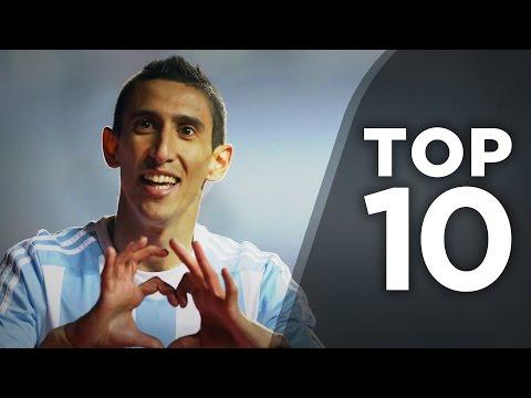 Top 10 Benfica Exports | di Maria, Eusebio, Luiz!