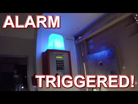 Abandoned Food Factory – ALARM TRIGGERED