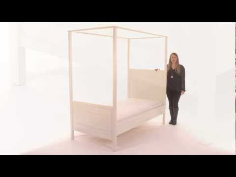 Select this Sturdy and Stylish Kids Canopy Bed for Your Child's Room | Pottery Barn Kids
