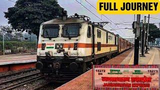 Full JOURNEY Onboard In 15271 Howrah Muzzafarpur Jansadharan Express//Wap7//Indian Railways.