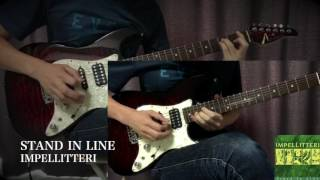 IMPELLITTERI - Stand in Line - Guitar Solo Cover Thank you for watc...