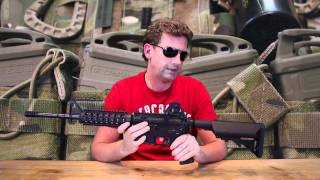 We look at the D Boys M4 CQB from wwww.mianirishairsoft.com.
