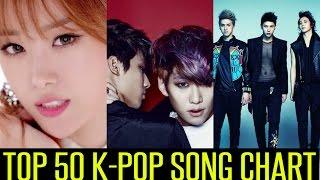 TOP 50 K-POP SONG CHART | OCTOBER 2014 (Week 3 Chart)