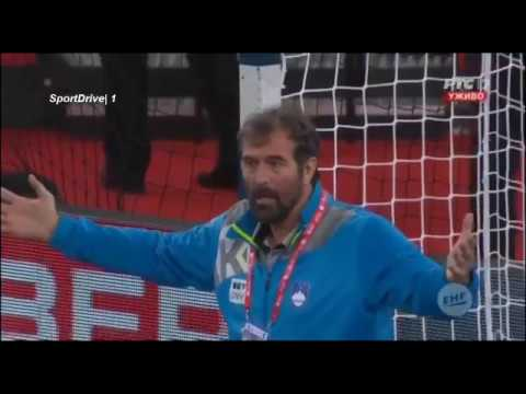 Vujovic stao na gol Slovenije iz protesta | Slovenija - Nemačka RUKOMET | 15.01.2018