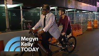 Al Roker Gives Megyn Kelly A Lift To Her New Job (On A Bike!) | Megyn Kelly TODAY