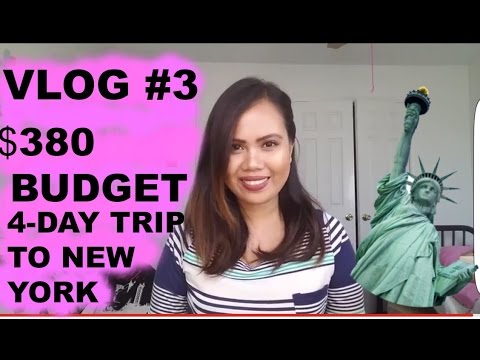 COLLECTION 2017: MY 4-DAY TRIP TO NEW YORK ON A BUDGET SPRING 2017