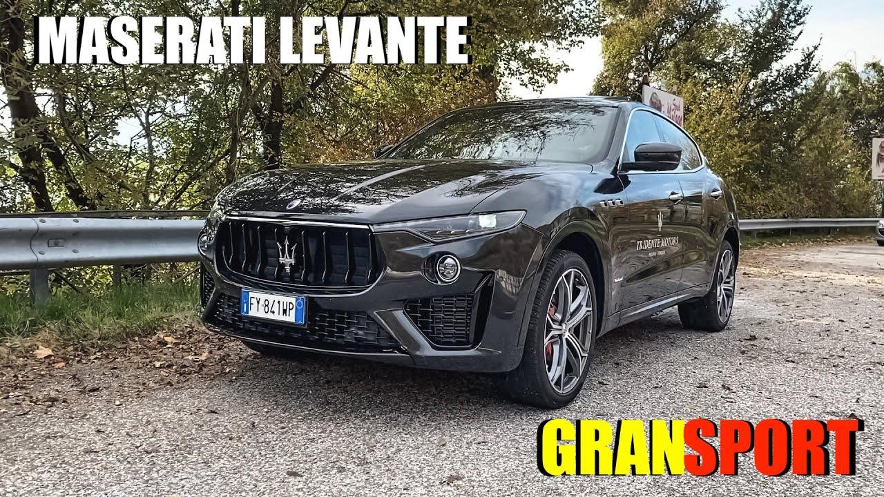MASERATI LEVANTE GRANSPORT - Il LUSSO nella SPORTIVITA'