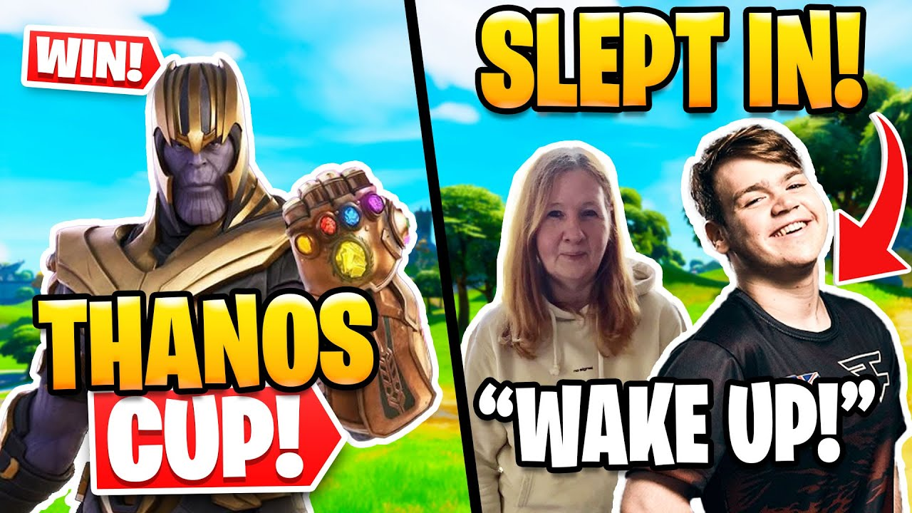 Mongraal Didn't Qualify Because He Slept In?   How to Win Thanos Skin