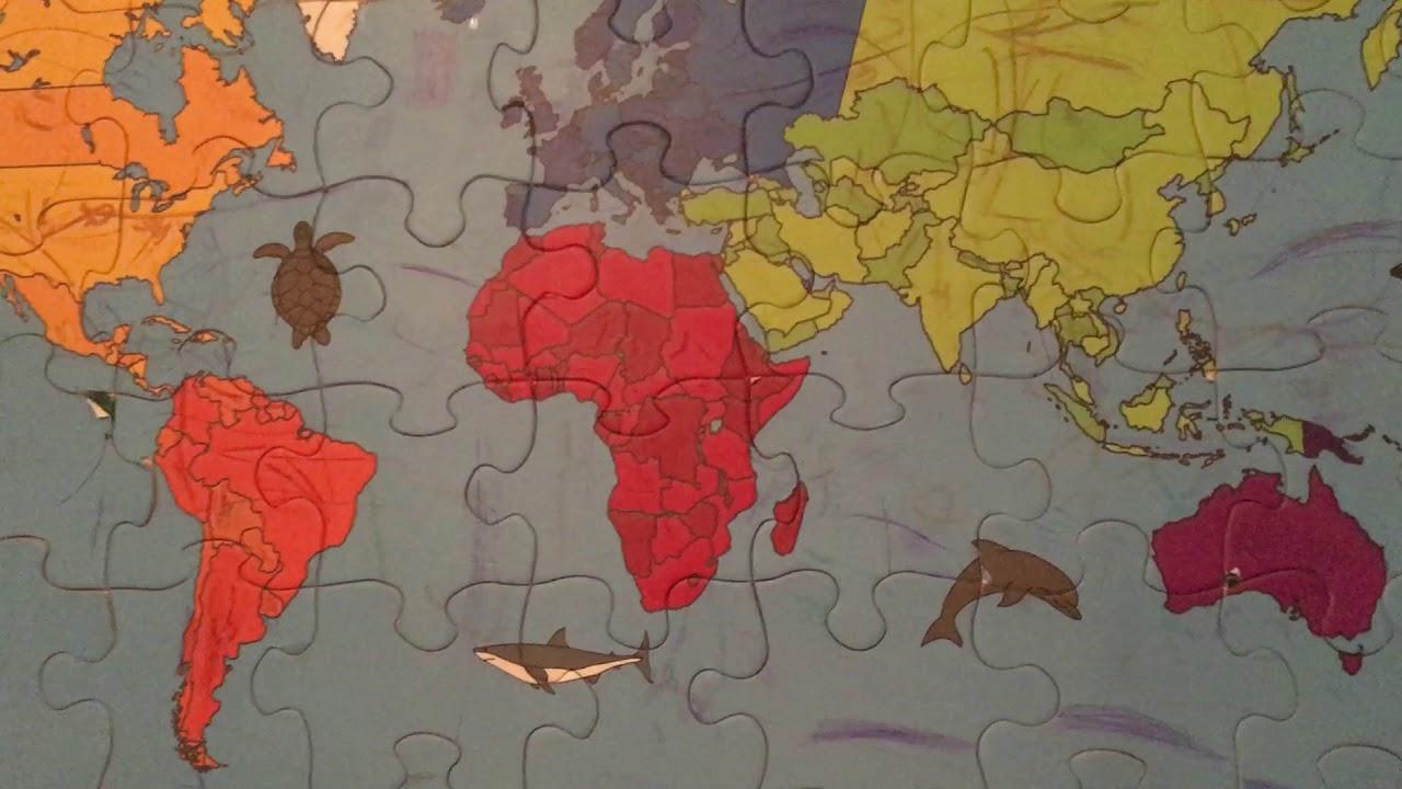 Harta Lumii La 4 Ani Youtube