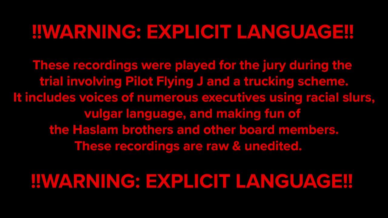 Recordings of former Pilot Flying J execs detail racist, vulgar exchange