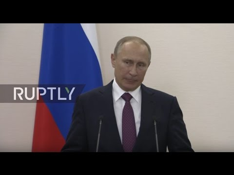 LIVE: Putin holds press conference following Normandy Four talks in Berlin