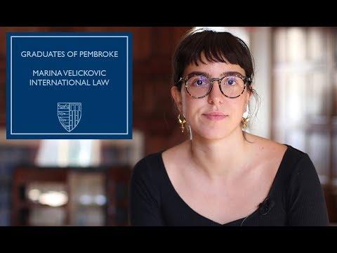 Graduates of Pembroke: Marina Velickovic