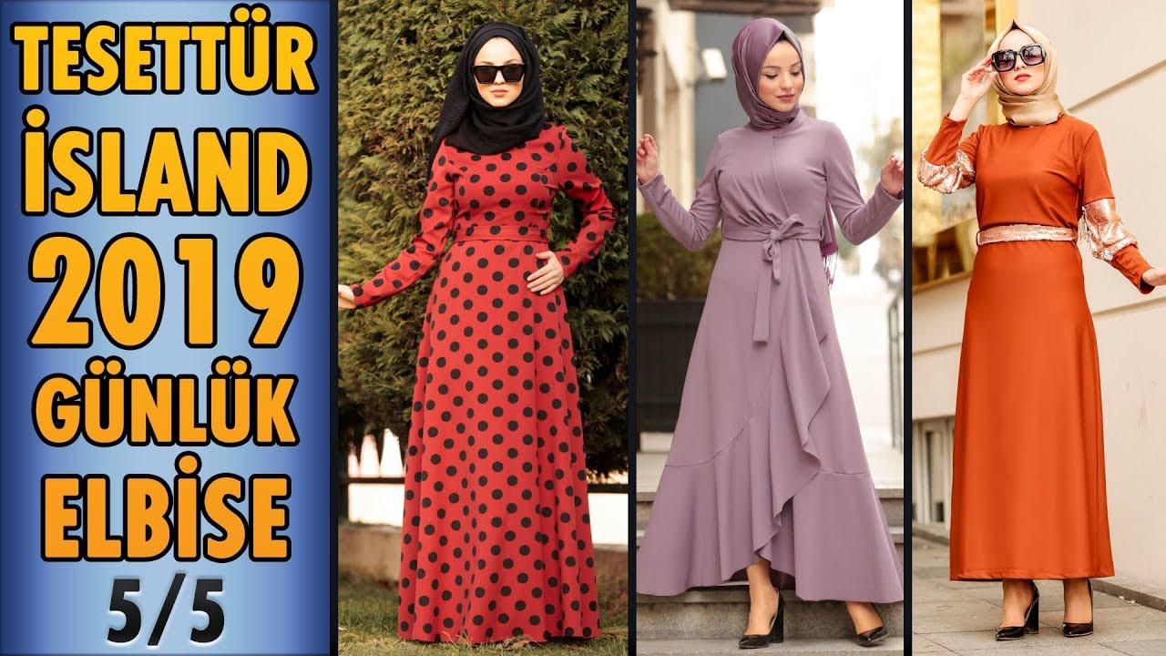3ca01d0a8e073 #Tesettür #Island 2019 Günlük Tesettür Elbise Modelleri 5/5 | #Hijab #Dress  | #elbise #fashion