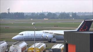Planespotting at Birmingham Airport ||| 15/10/2013