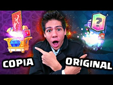 Thumbnail: ¡ABRO COFRES ORIGINALES VS COFRES COPIA de Clash Royale! - [ANTRAX] ☣