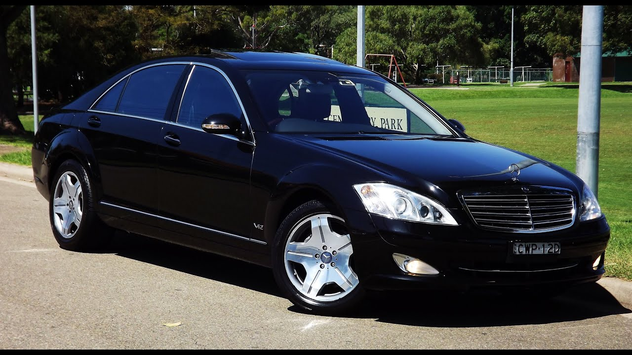 2007 mercedes benz s600l my08 automatic 89 youtube for Mercedes benz s600l