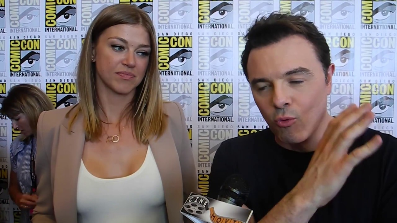 Download Seth MacFarlane and Adrianne Palicki Talk Influence Behind The Orville