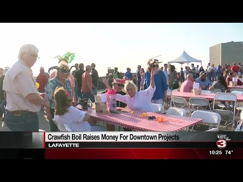 Crawfish Boil On The Rooftop Held In Downtown Lafayette