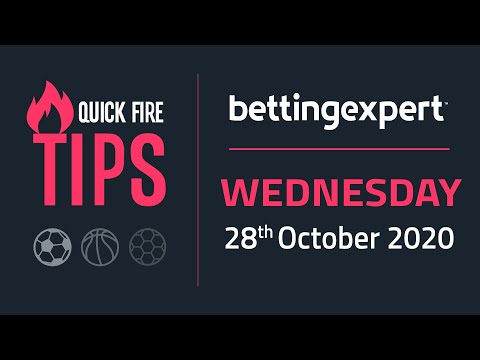 Betting tips today | The best bets for Wednesday 28th October