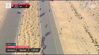 UAE Tour 2021 highlights: Panic in the peloton on Stage 7!