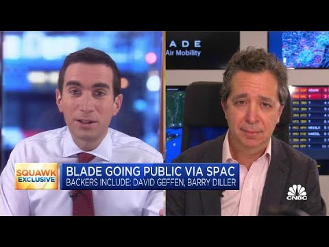 Blade founder and CEO on investors involved in SPAC deal