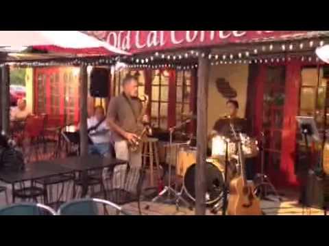 Live Music at Old Cal Coffee in San Marcos Ca ~ StevenYbarra CutsLikeaKnife