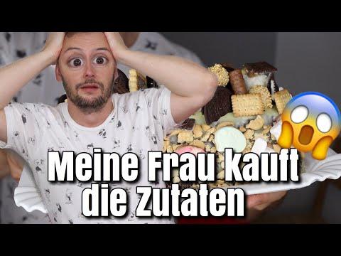 MEINE FRAU KAUFT DIE ZUTATEN | SWEET EDITION | Florian Mennen