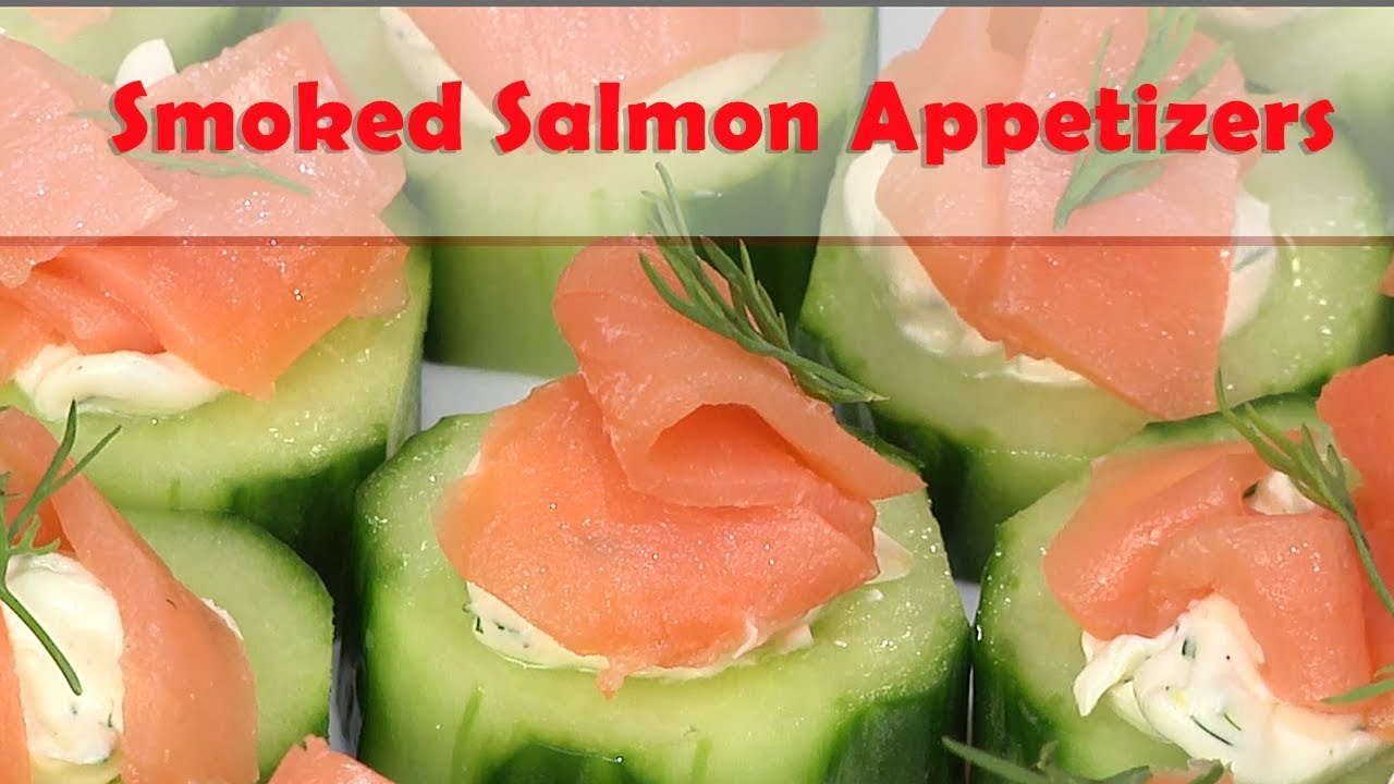 Smoked Salmon Appetizers Youtube