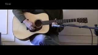 Huss & Dalton TD-M Sinker Mahogany review - Part I.  One Man's Guitar