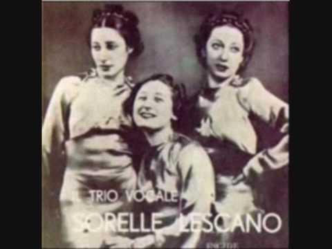 Le Canzoni Perdute - Il Trio Lescano - Topolino al mercato - Rarità 001