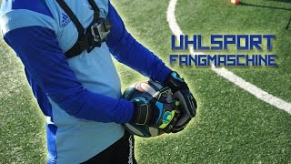 Uhlsport Fangmaschine Absolutegrip Test & Review | Professional Goalkeepers Gloves - Ita
