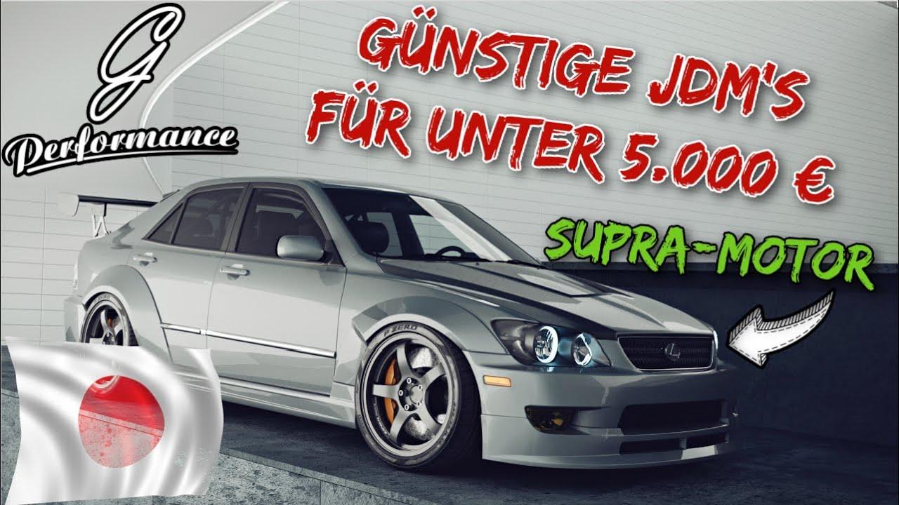 Günstige JDM Autos für unter 5.000 € | G Performance